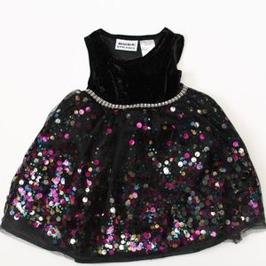 Blueberi Boulevard Dresses - Blueberi Blvd Baby Girl Dress 12m